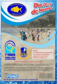 Pesque e solte nas praias do RJ