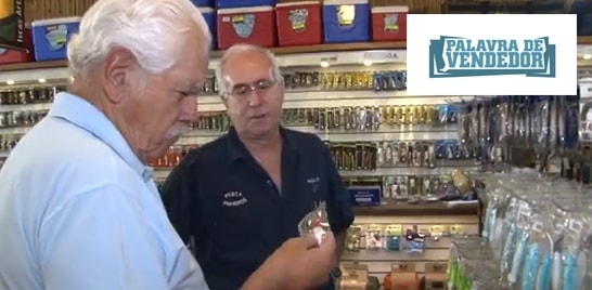 Palavra de vendedor: Paulo Barreto - Loja Pesca Pinheiros
