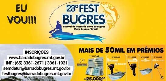 Competição de pesca esportiva em Barra do Bugres é neste domingo