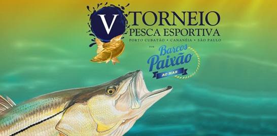 V Torneio de Pesca Esportiva de Cananéia