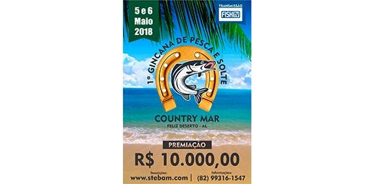 Torneio incentiva pesca de praia no nordeste brasileiro