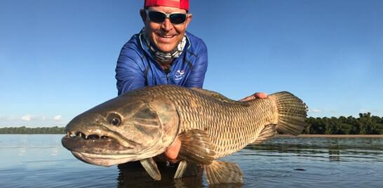Johnny Hoffmann fala sobre pesca esportiva no Rio Grande do Sul
