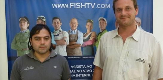 Pousada Casa Blanca visita a Fish TV