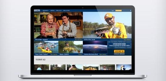 O FishTV.com está com novo visual