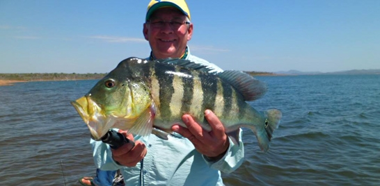 Reinold na pesca esportiva