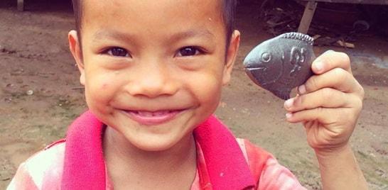 Peixinho de ferro ajuda a combater anemia de mais de 2 bilhões de pessoas
