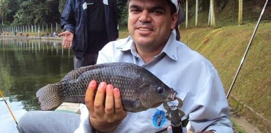 Equipe paulista promove pesca solidária