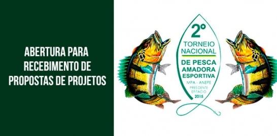 Anepe recebe propostas para 2º Torneio de Pesca Amadora Esportiva do Brasil