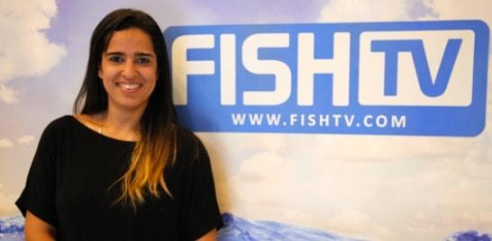 Representante de Bahamas visita os estúdios da Fish TV