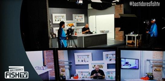 Novos episódios do Fish TV Teste