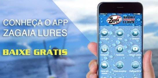 Zagaia Lures lança aplicativo para celulares