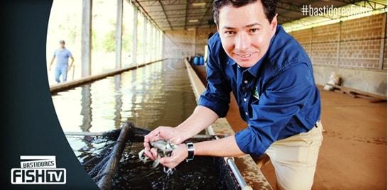Bastidores Fish TV - Programa Aqua Negócios na Piscicultura Sobradinho