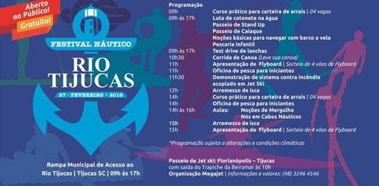 Festival Náutico agita Tijucas em Santa Catarina