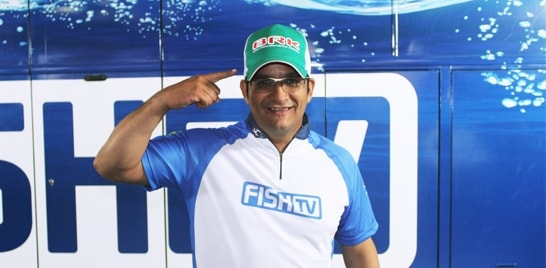 Denis Garbo veste BRK Fishing