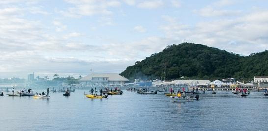 Iate Clube de Guaratuba recebe o Sul Brasileiro de Pesca ao Robalo