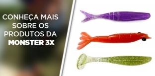 Eduardo Monteiro usa Monster 3X