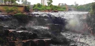 Água preta pode ter sido causada por crime ambiental
