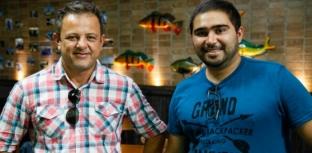 Fish TV recebe visita de representantes da Garmin
