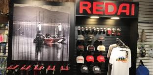 Redai lança espaço exclusivo da marca em loja de pesca