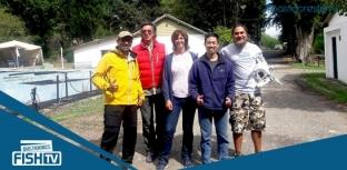 Bastidores Fish TV - Na Pegada do Fly visita Centro de Ecologia em Neuquén
