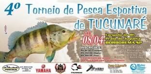 Vem aí o 4º Torneio de Pesca Esportiva de Tucunaré