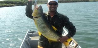 Pesca esportiva em Paulicéia