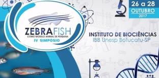 Zebrafish é tema de simpósio na Unesp de Botucatu