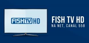 FISH TV INICIA TRANSMISSÃO DE SINAL HD PELA NET