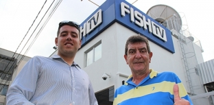FISH TV RECEBE REPRESENTANTES DA AICAS