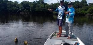 DUPLA SORTEADA NO CAMPEONATO BRASILEIRO PESCA NA AMAZÔNIA