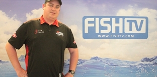 REPRESENTANTE DA TOTAL FISHING VISITA FISH TV