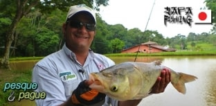 Programa Pesque e Pague com artigos da Japa Fishing