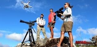 Drone, slow motion e equipe fazem o Momento da Pesca mais animal