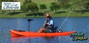 Caiaque Barracuda garante segurança nas pescarias de Denis Garbo