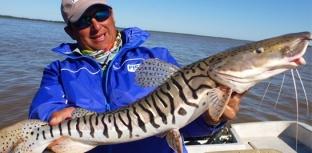 Recanto da pesca esportiva às margens de um dos maiores rios da América do Sul
