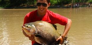 Um verdadeiro recanto para os pescadores esportivos
