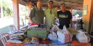 Mais de 50 kg de alimentos são arrecadados em torneio de pesca