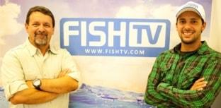 Fish TV recebe visitas ilustres