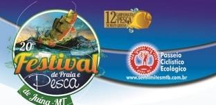 Festival de Pesca e Praia ocorre nos dias 5 a 6 de setembro