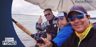 Os bastidores das gravações do Momento da Pesca