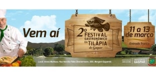Festival Gastronômico da Tilápia estimula a piscicultura de Santa Catarina