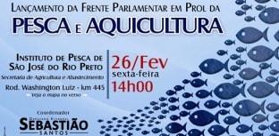 Pesca e aquicultura é tema de Frente Parlamentar em São Paulo