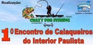 Vem aí 1º Encontro de Caiaqueiros do Interior Paulista