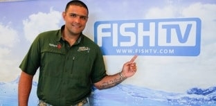 Eduardo Monteiro grava dicas para o Escola de Pesca