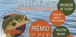 Vem aí a 2ª edição do Torneio de Pesca entre Amigos