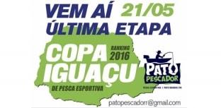 Última etapa da Copa Iguaçu acontece no sábado, dia 21