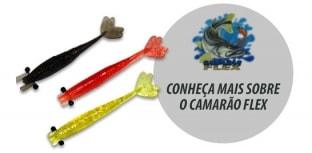 Camarão Flex - A isca que não pode faltar na sua tralha