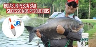 Boias JR Pesca são sucesso nos pesqueiros