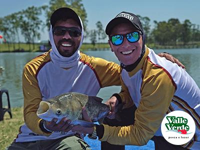 Pesqueiro Valle Verde recebe primeira carga de peixes