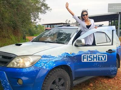 """""""A viagem de carro já é um dos prazeres da pescaria"""""""